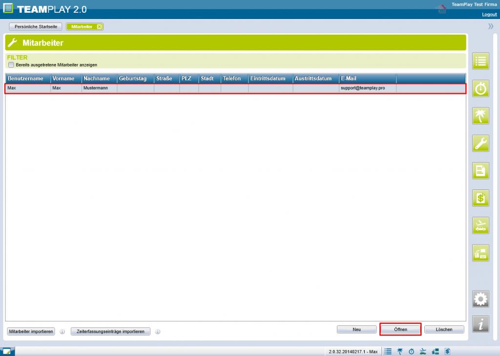Screenshot Berechtigungen MA öffnen