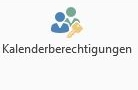 Icon Kalenderberechtigungen Outlook