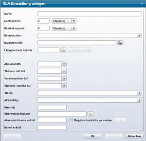 2.0.65 SLA-Modul Stellvertreter eintragen